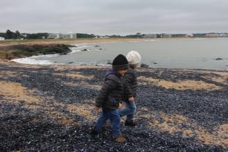 Pisando caracoles, Punta del Este