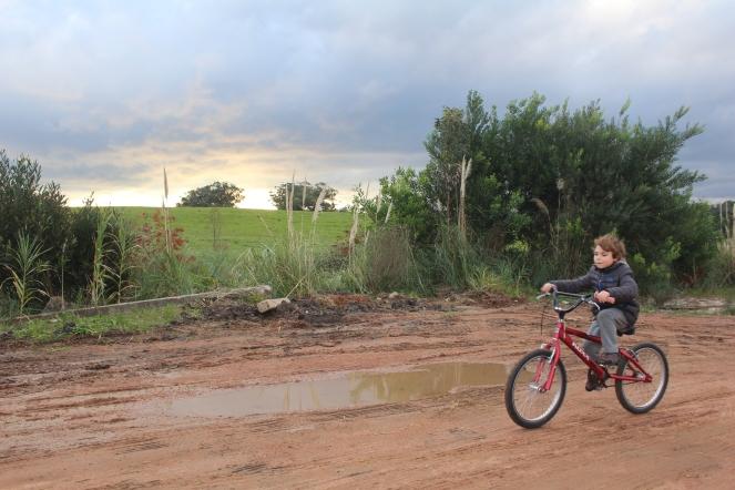 Bici en Punta