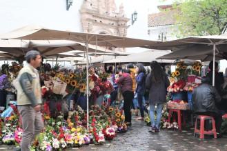 Plaza de las flores en Cuenca. Bellisima!