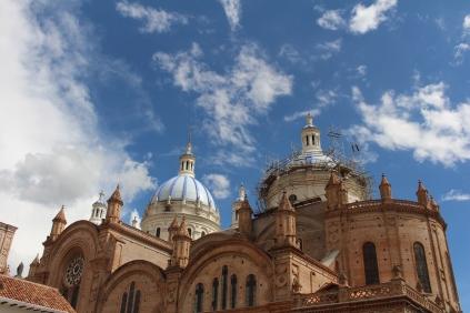 Cupulas de la catedral de Cuenca