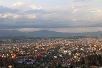 Cuenca desde el mirador Turi,
