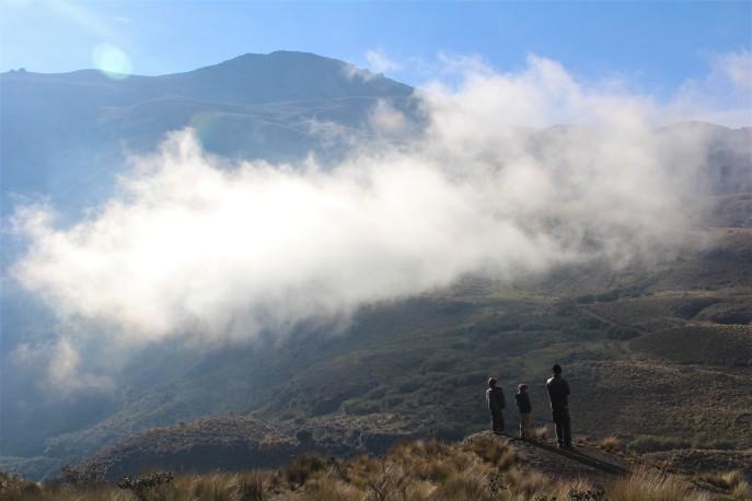 En las Nubes. PN Cajas