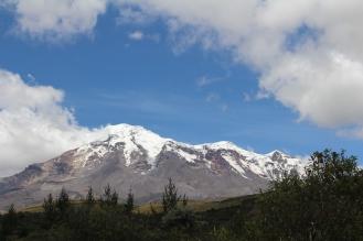 Especatacular!!! Bello Chimborazo.