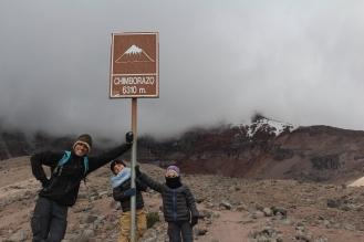 1 refugio Chimborazo!